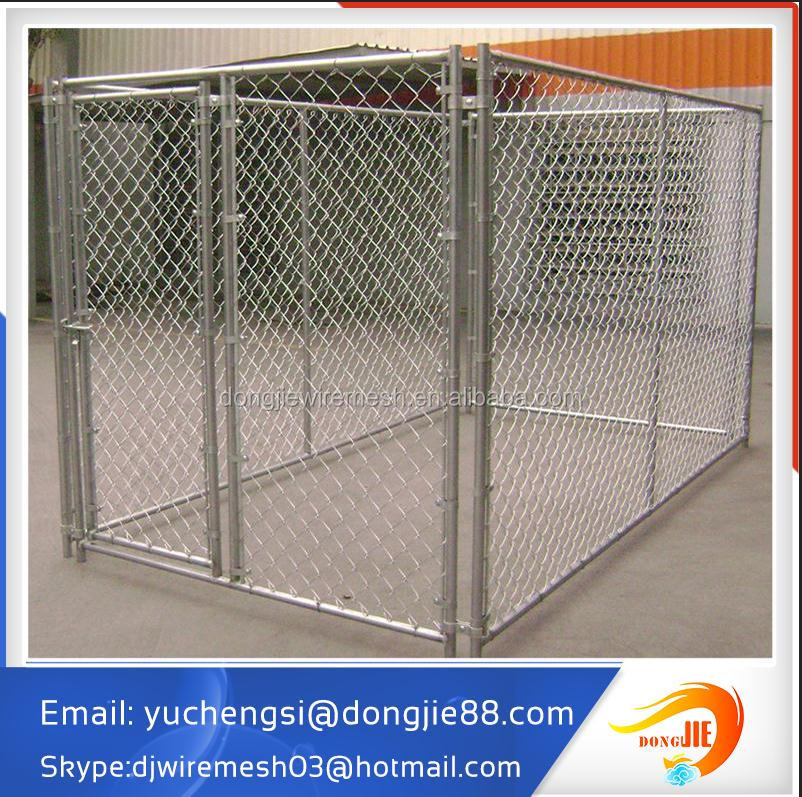 double dog kennel fashion indoor dog fence
