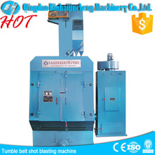 tumble belt shot polish cleaning machine with CE,ISO