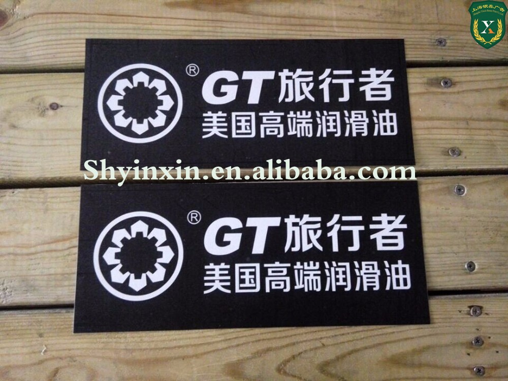 Wholesale factory carbon fiber vinyl sticker for car with full color printing