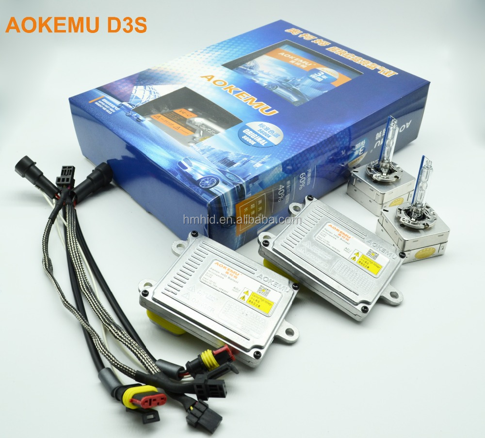3 years guarantee Super bright AOKEMU ADJ 35W/45W D3S 5600K Koito D1/D2/D3/D4 HID Xenon Kit