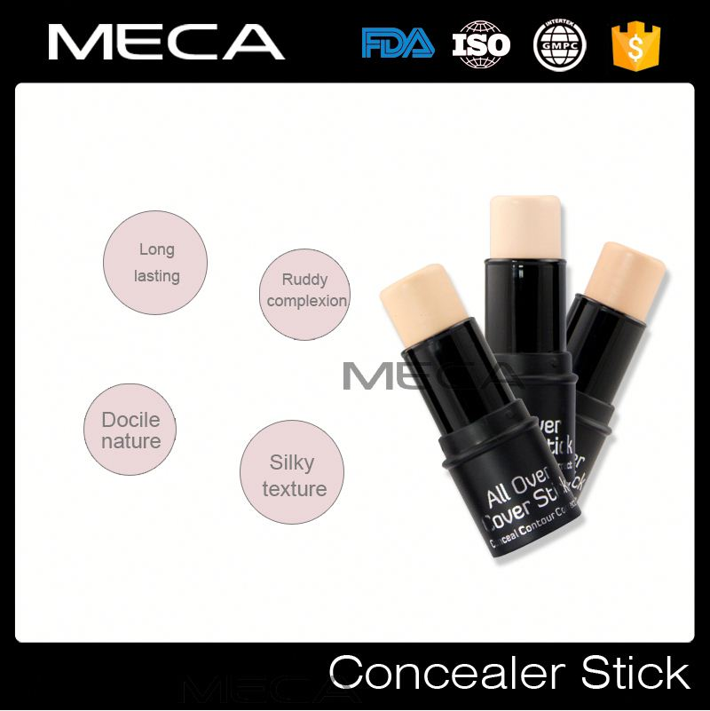 private label 3d cosmetic cheek color blusher No Logo concealer stick wholesale highlighter shimmer stick