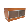 2017 Customized acrylic reptile display cases with good quality