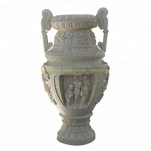 Large Garden Home Decor Stone art New product Marble Flower Pot