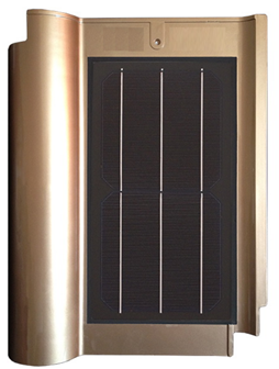 8w Solar Tile Roof System photovoltaic tile
