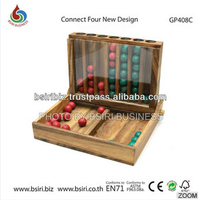 wooden brain puzzles Connect Four new design