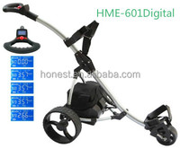 Mini electric golf cart golf trolley golf buggy with Colorful LCD Display HME-601Digital