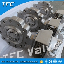 Duplex stainless steel 1 inch lug butterfly valve 4 butterfly valve