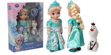 New and hot sale.Princess Frozen Snow Glow snow queen Elsa singsing dolls for kids