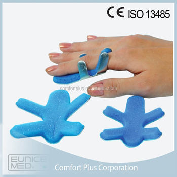 healthcare Aluminum orthopedic finger fracture splint
