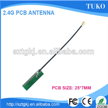 GSM PCB Antenna High Quality OPEN/IPEX Adhesive Dual Band GSM 2.4G PCB omni direction Antenna