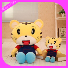 2016 Factory lovely animal cheap custom cute plush tiger toy for sale