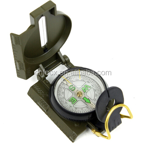 Pocket Outdoor Military Army Hiking Camping compass / surival compass / folding compass