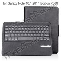 For Samsung Galaxy Note 10.1 2014 Edition P600 Keyboard Case Detachable Bluetooth Keyboard for Galaxy Note10.1 P600 Leather Case