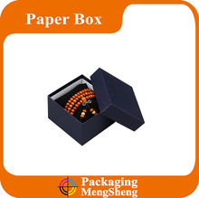 Hot selling square jewelry bracelet paper gift top box and bottom packaging