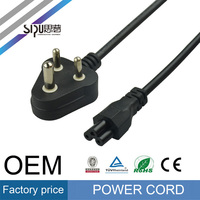 SIPU Factory price India style power cord for PC / laptop wholesale AC power cable best price computer cable