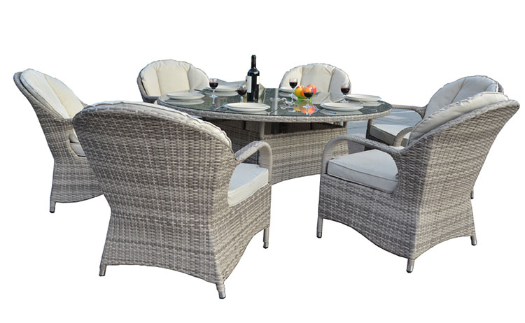 Cheap classic wicker coffee table set