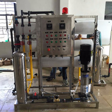 Industrial high desalination rate distilled 3TPH RO water purifying treatment equipment