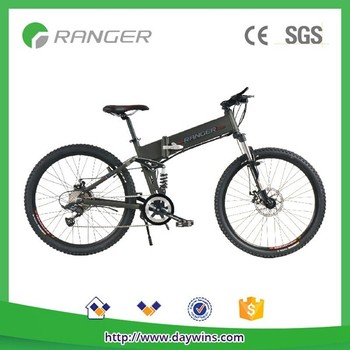 mountain electric folding bike with 36V8.8AH lithium battery