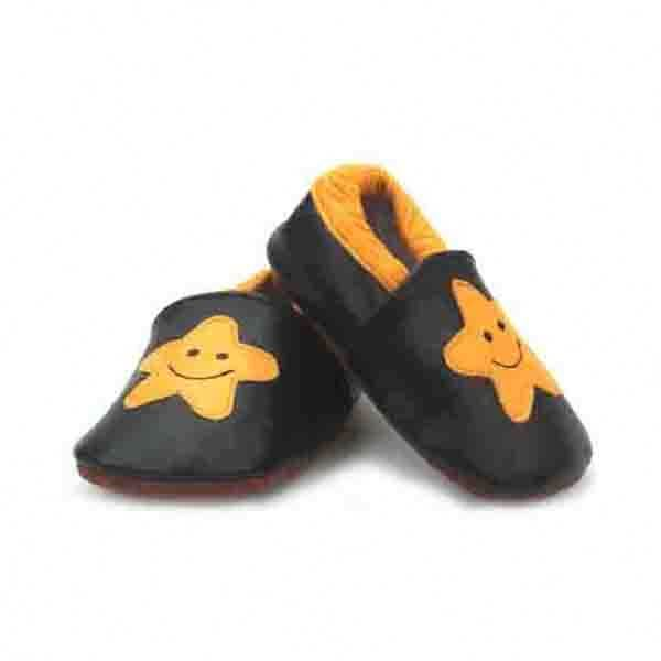 New Arrival Soft Sole Leather Shoes Cute Cartoon Baby Shoes