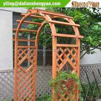Buy Garden wooden arch with trellis in China on Alibaba.com