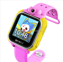 Teamyo JM13 3G Kids Smart Watch GPS WiFi Smartwatch Support GSM WCDMA Sim Card with Rotatable Camera Remote Monitor Child Watch