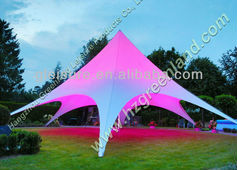 Dia. 10mx H 5m star shaped tent, star marquee, star shade