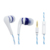 Noise cancelling function silicone gel ear plugs earphone headphone