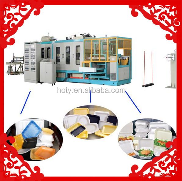 FACTORY PRICE Automatic PS Food Foaming Container Production Line