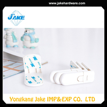 High quality best selling oem L shape decorative drawer locks baby safety cabinet locks