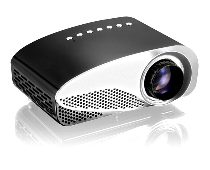 WINAIT factory price multimedia projector GP8S mini protable projector 1080p with dual HDMI ports