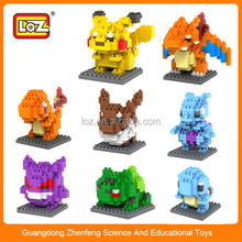 LOZ diamond Blocks pokemon serise DIY blocks educational toys.