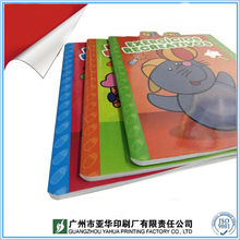 2017 newest kids color filling book / kids painting book / saddle making books