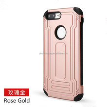 2in1 luxury Case For iphone 4 5 6 7 Shockproof Cover Soft TPU Silicone + PC Defend Shield Fundas Mobile Phone Cases