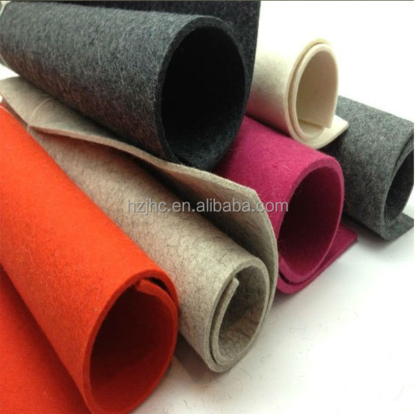 JHC 3mm 5mm 8mm 10mm thick felt with cheap price