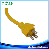 Made in china alibaba manufacturer high quality american 3 pin plug