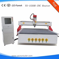 wood cnc router machine jinan manufature wood router square tube lathe in good rigidity ranking tool changing engraving machine