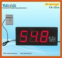 4 inch 3 digits LED digital thermo hygrometer