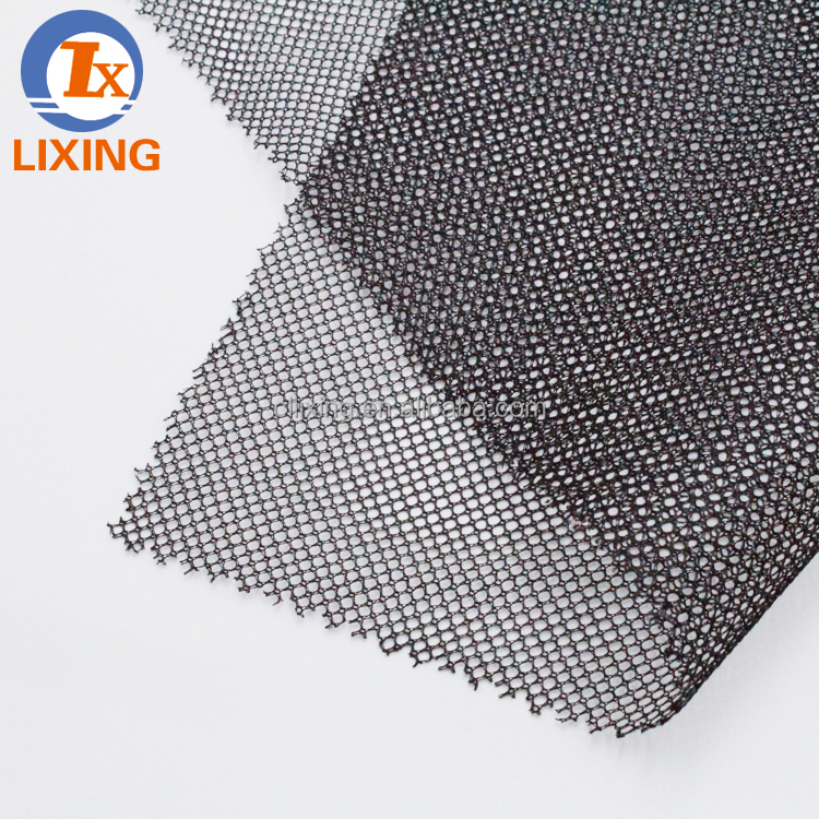 China Polyester Black Fabrics mesh textile market in dubai