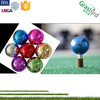 ladies promotional gift two piece cystal metal golf ball manufacturer