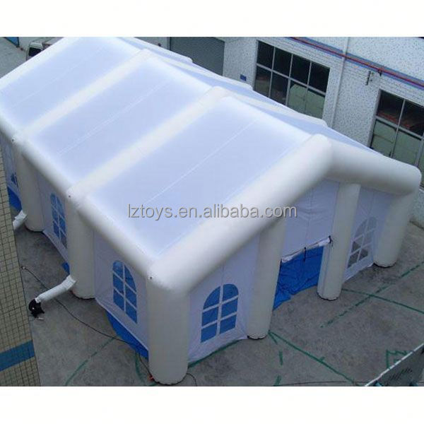 tents inflatables , LZ-E316 quality giant sewed inflatable tent for sale