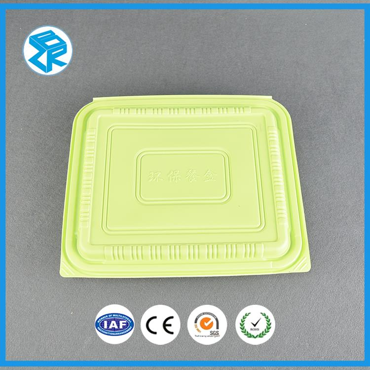 C006 hot food containers for airline recycle bento lunch box fast meal boxes