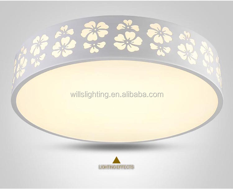 luxury crystal fancy light led ceiling lighting for living room