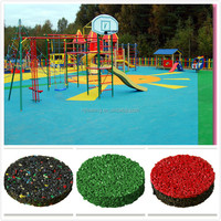 Rubber Products, EPDM Rubber Flooring For Sports Court, Playground -FN-D-150330