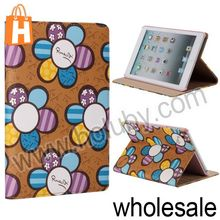 Sunflower Pattern Flip Stand Leather Case for iPad Mini Retina iPad Mini