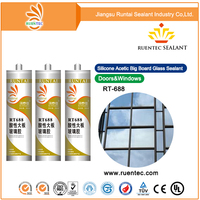m080314 Glass aluminum Silicone Sealant/neutral transparent adhesive OLV128