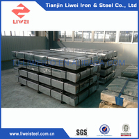 China Wholesale Zinc Coated Steel Sheets