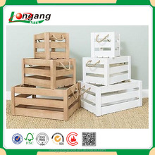 New Designed Wholesale Natural Unfinishd Cheap Wooden Fruit Crates For Sale/wooden wine crates/wooden crates christmas wood box