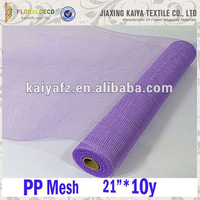 Decorations floral pp mesh wrap