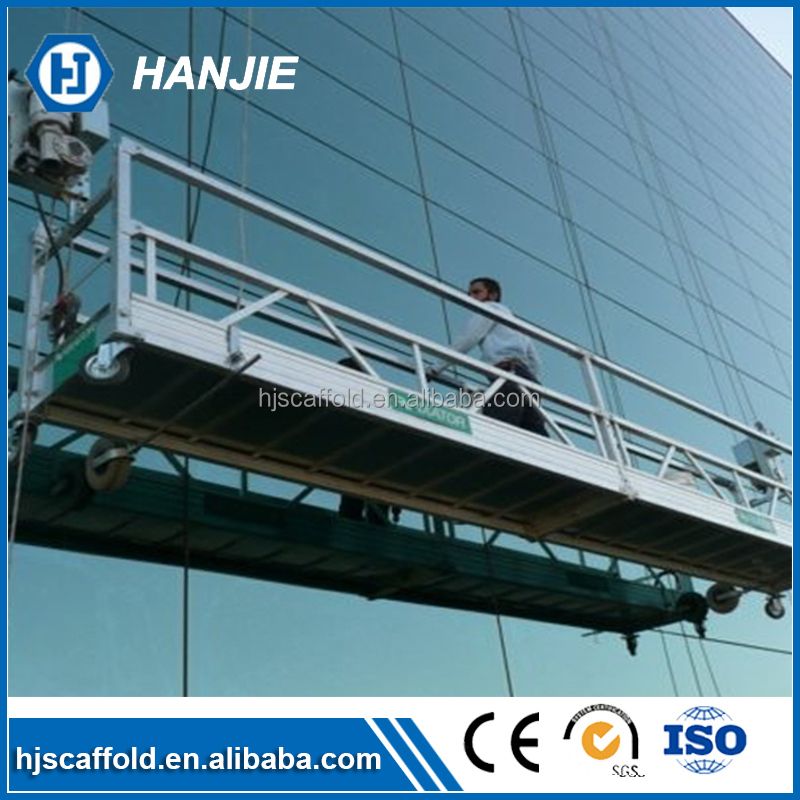 Rope suspended scaffolding/ cradle/ gondola window cleaning machine