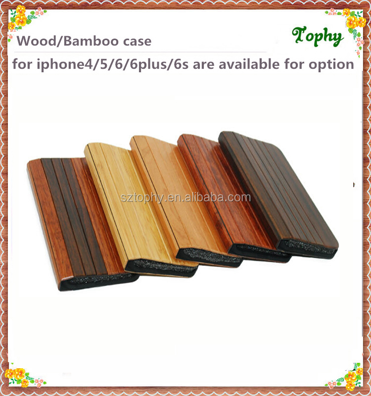 factory direct sale high quality wood wallet phone case for apple iphone 5s 6s bamboo flip cover 6 plus